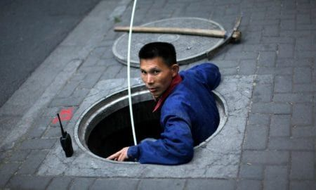 Chinese authorities want to start sifting through sewage wastewater to catch illegal drug users. Stock photo used for illustrative purposes. Carlos Barria/Reuters