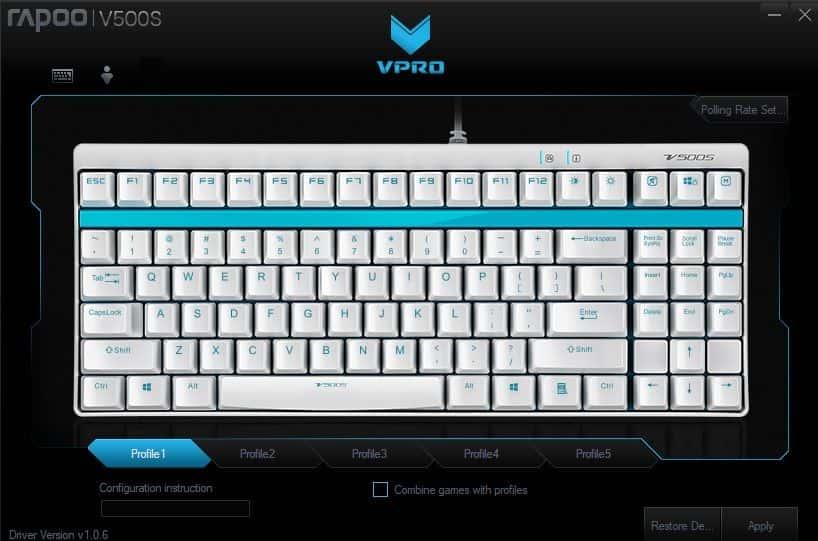 V-Pro V500S aplikacja