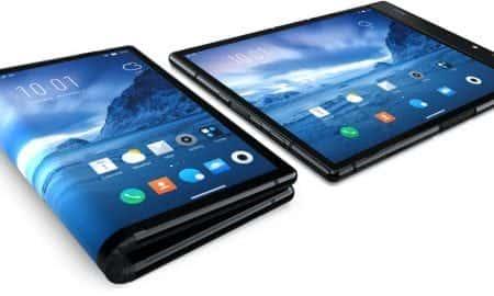 smartfon z elastycznym ekranem