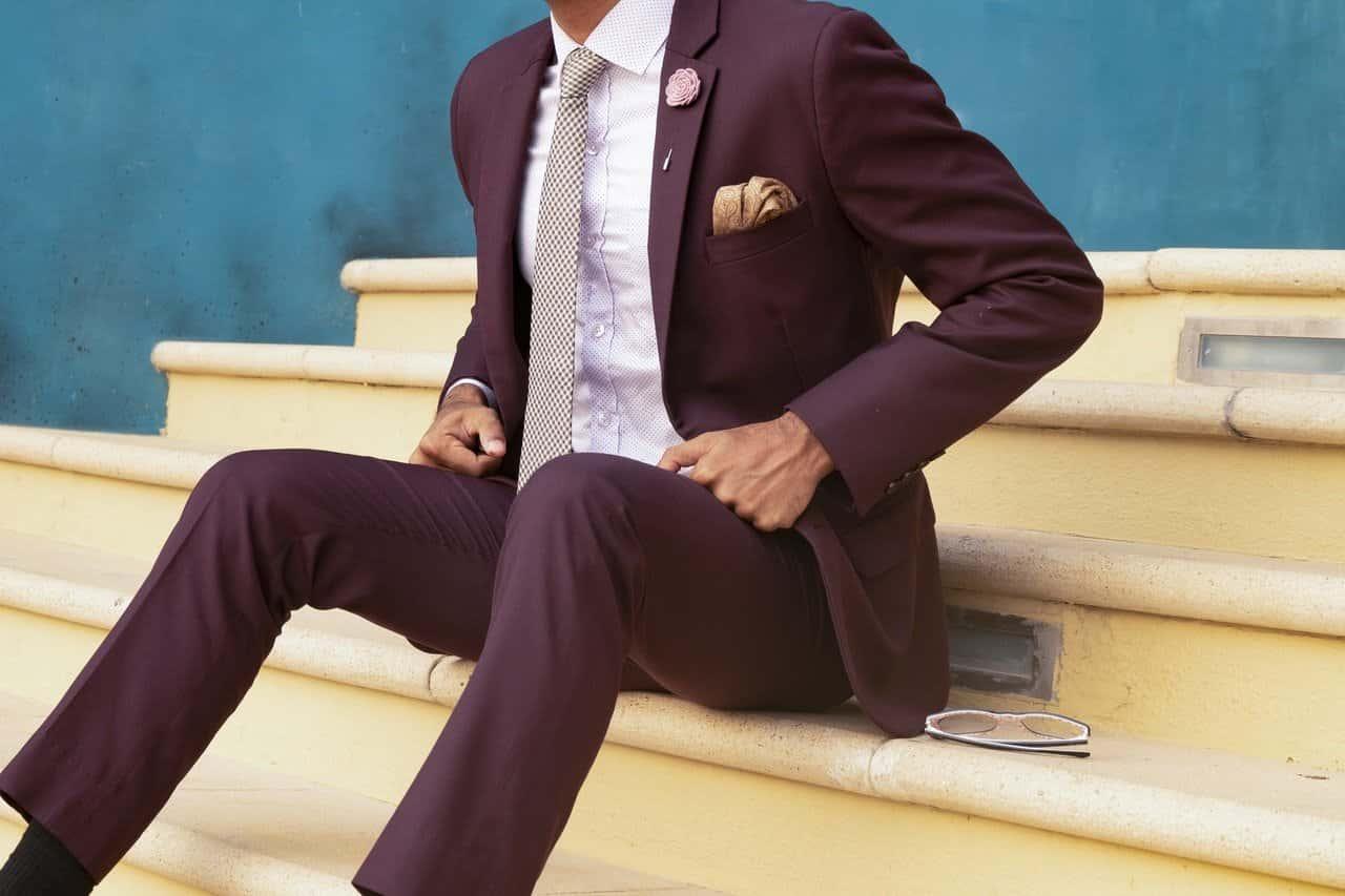 Idealny garnitur dla mężczyzny