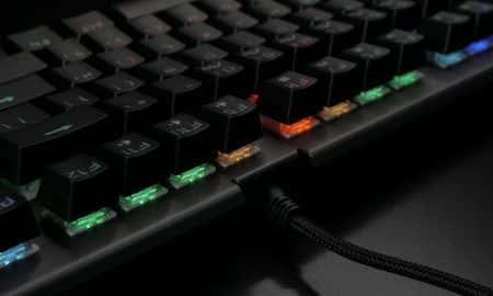 Klawiatura dla graczy MAD DOG GK900 RGB test
