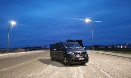 Renault Trafic - test minibusa