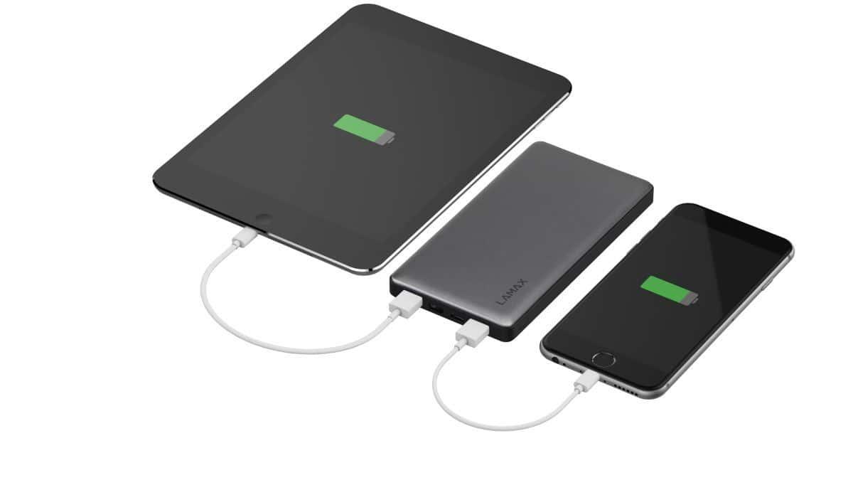 Powerbank Lamax 10000 mAh sprawi, że nie będziecie musieli obawiać się o prąd dla waszych smartfonów