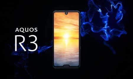 Sharp AQUOS R3 ma dwa wcięcia w ekranie. Jakby jedno nie wystarczyło