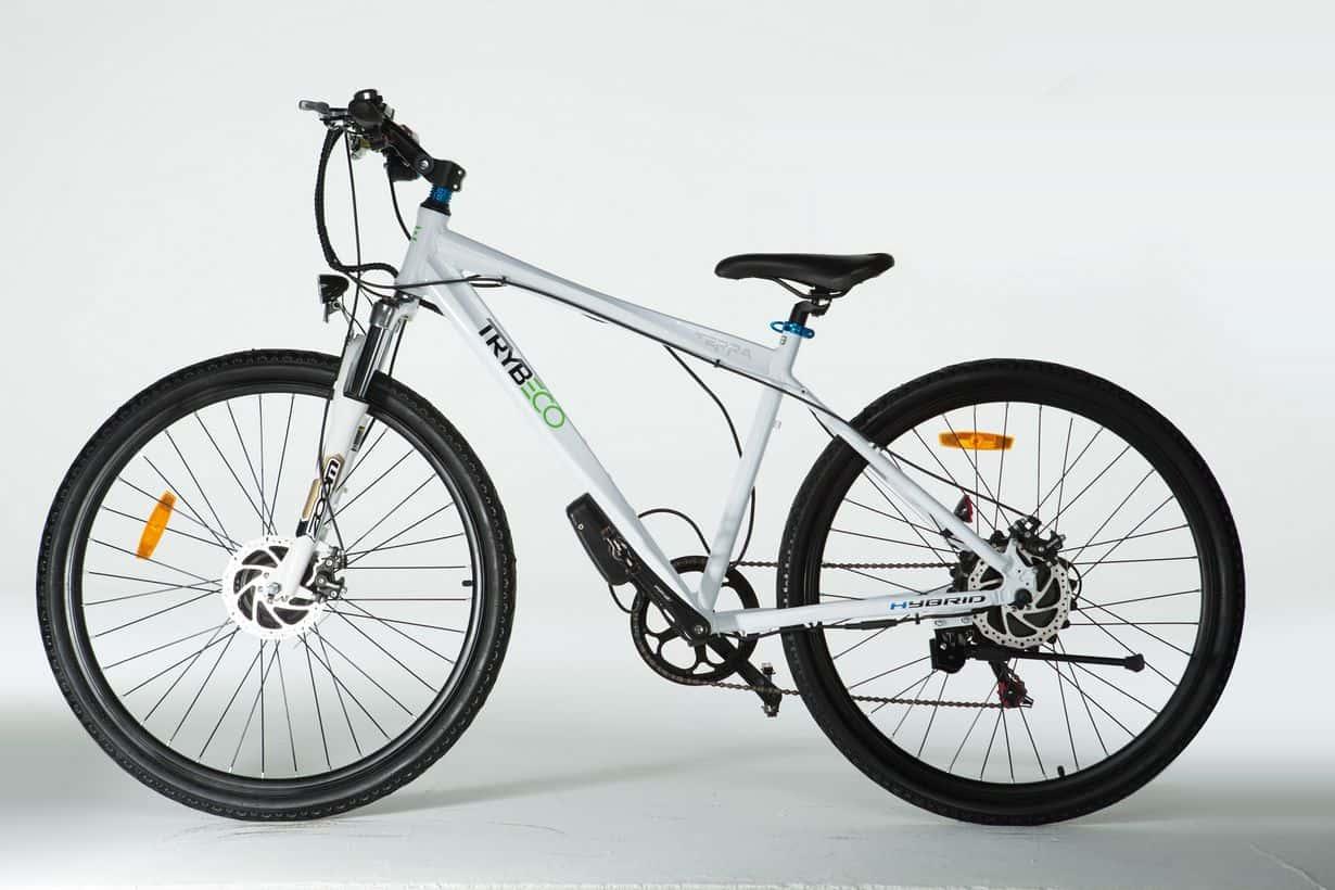 Hybrydowy rower TrybEco Terra 28 White
