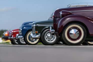 Klasyczne Volvo na torze Modlin