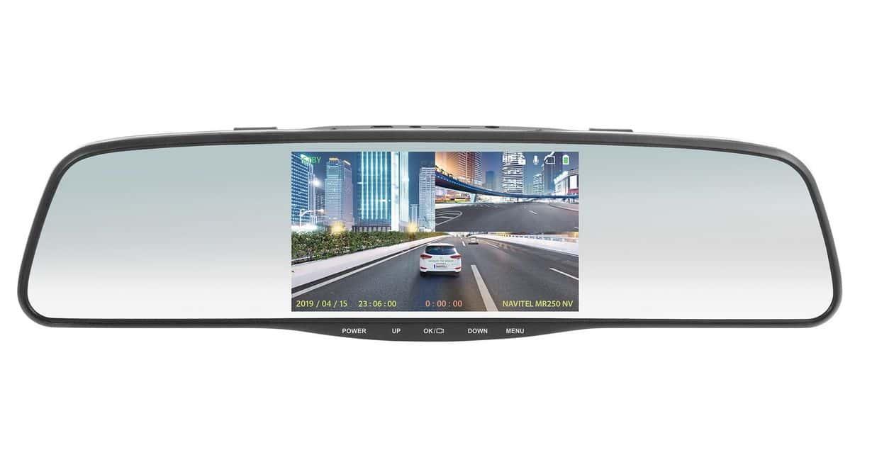 NAVITEL MR250 NV to lusterko samochodowe z sensorem night vision