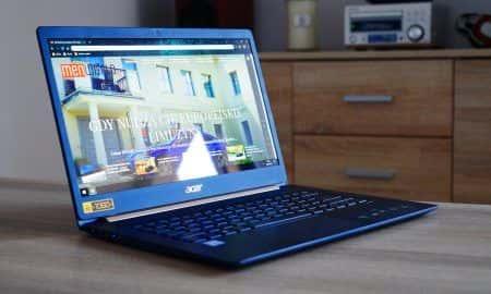 Test Acer Swift 5 - ultrabook lekki jak piórko