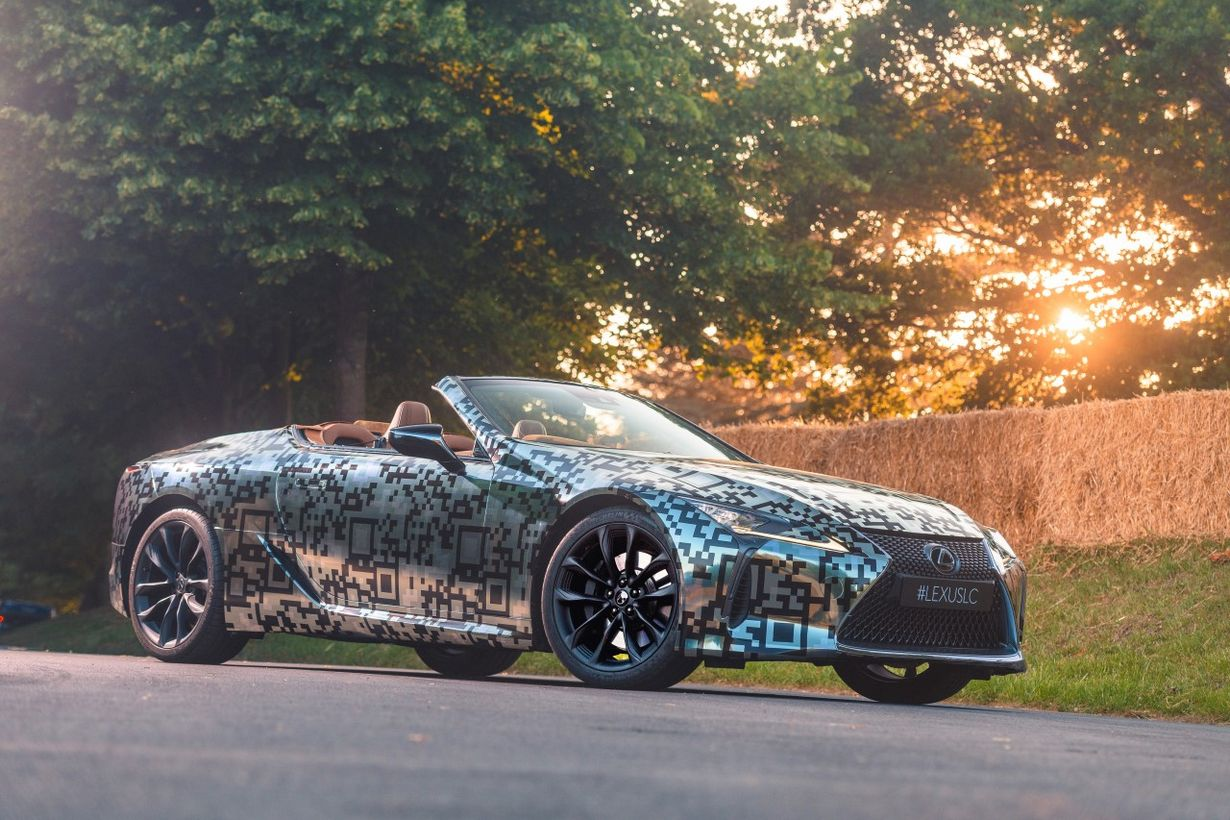 Lexus LC convertible cabrio kabriolet