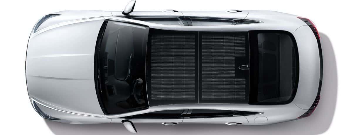 Panele na dachu Hyundai Sonata Hybrid