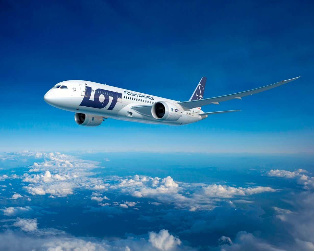 LOT 787 Dreamliner