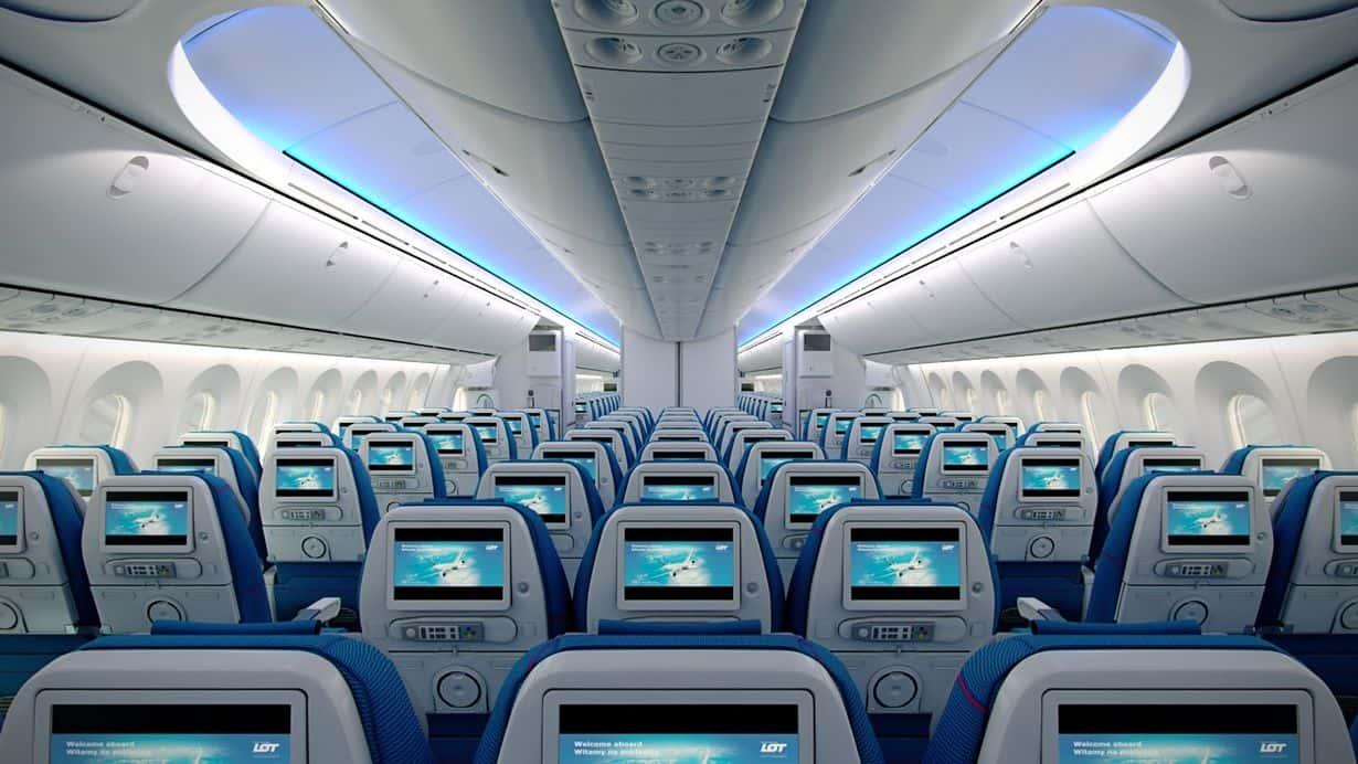 LOT Economy Class Dreamliner