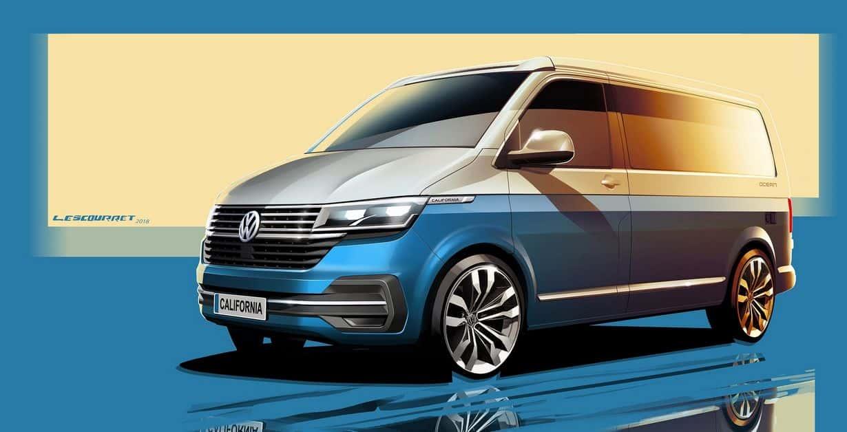 Volkswagen California 6.1 - znamy już pierwsze szkice
