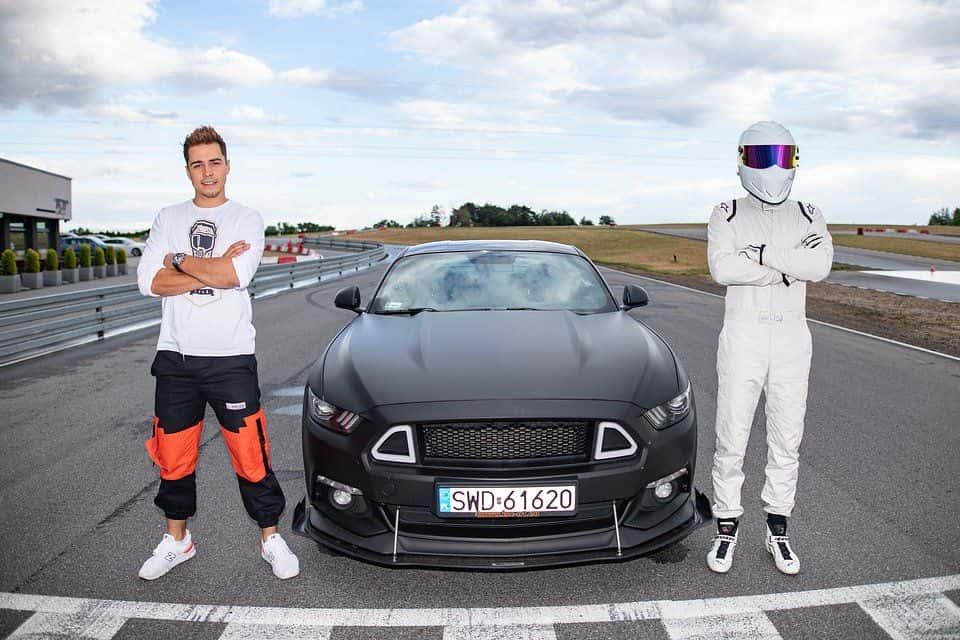 Rezi i Stig z Top Gear