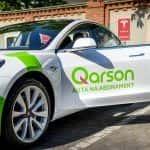 Qarson oferuje wynajem aut marki Tesla