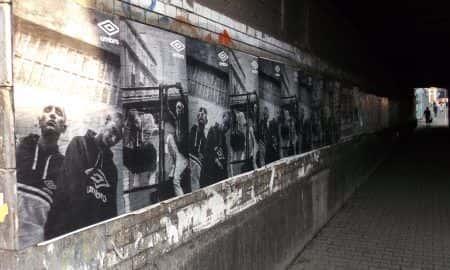 Kampania reklamowa Umbro pojawiła się na ulicach polskich miast