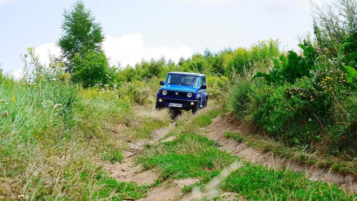 Suzuki Jimny - terenówka, która niczego nie udaje