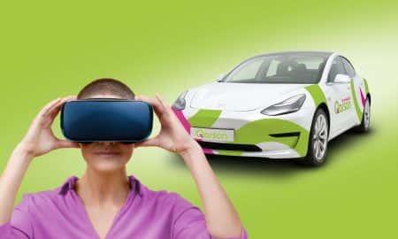 Auto na abonament w Qarson wybierzesz wykorzystując Google VR