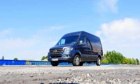 Mercedes-Benz Sprinter 319 CDI - nowe technologie w dostawczaku