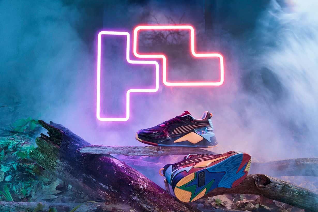 PUMA prezentuje nowe buty sportowe. Inspiracją Tetris i Rubik