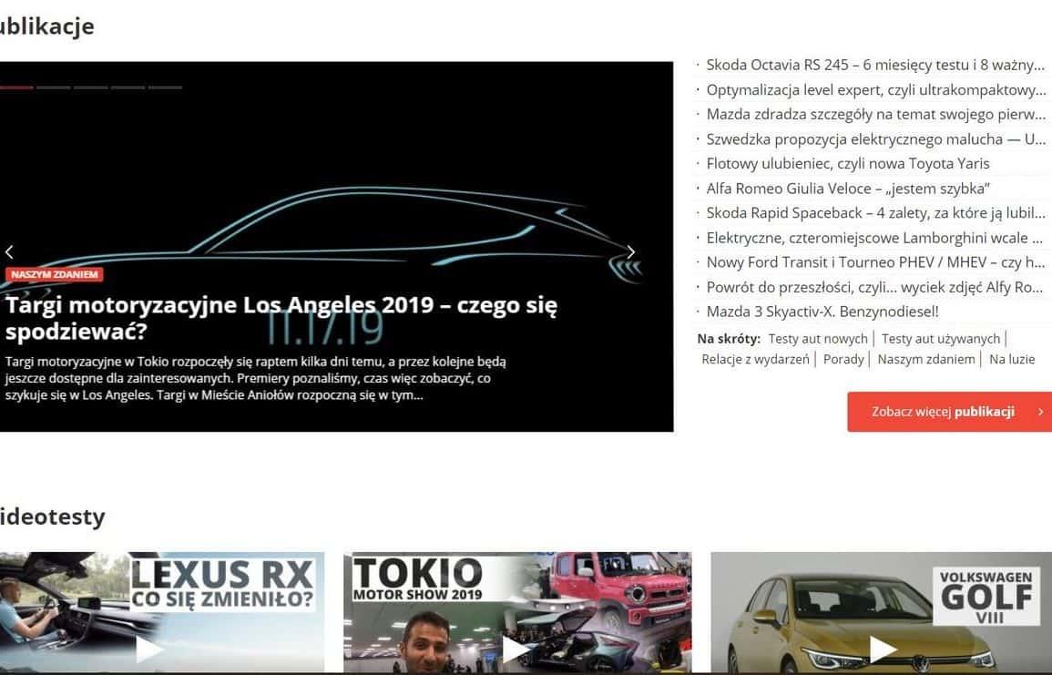 OPONEO.pl sprzedało Autocentrum.pl na rzecz spółki Wirtualna Polska