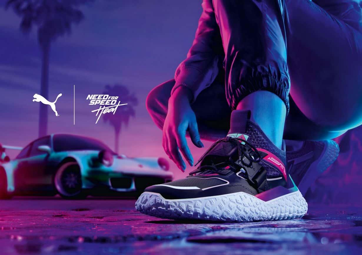 Puma x Need For Speed Heat Hi Octn