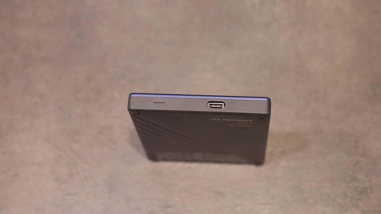 Dysk zewnętrzny WD My Passport Ultra wyposażony jest w port USB typu C