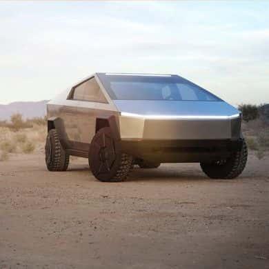 Tesla Cybertruck spotkany na drodze. Robi wrażenie!