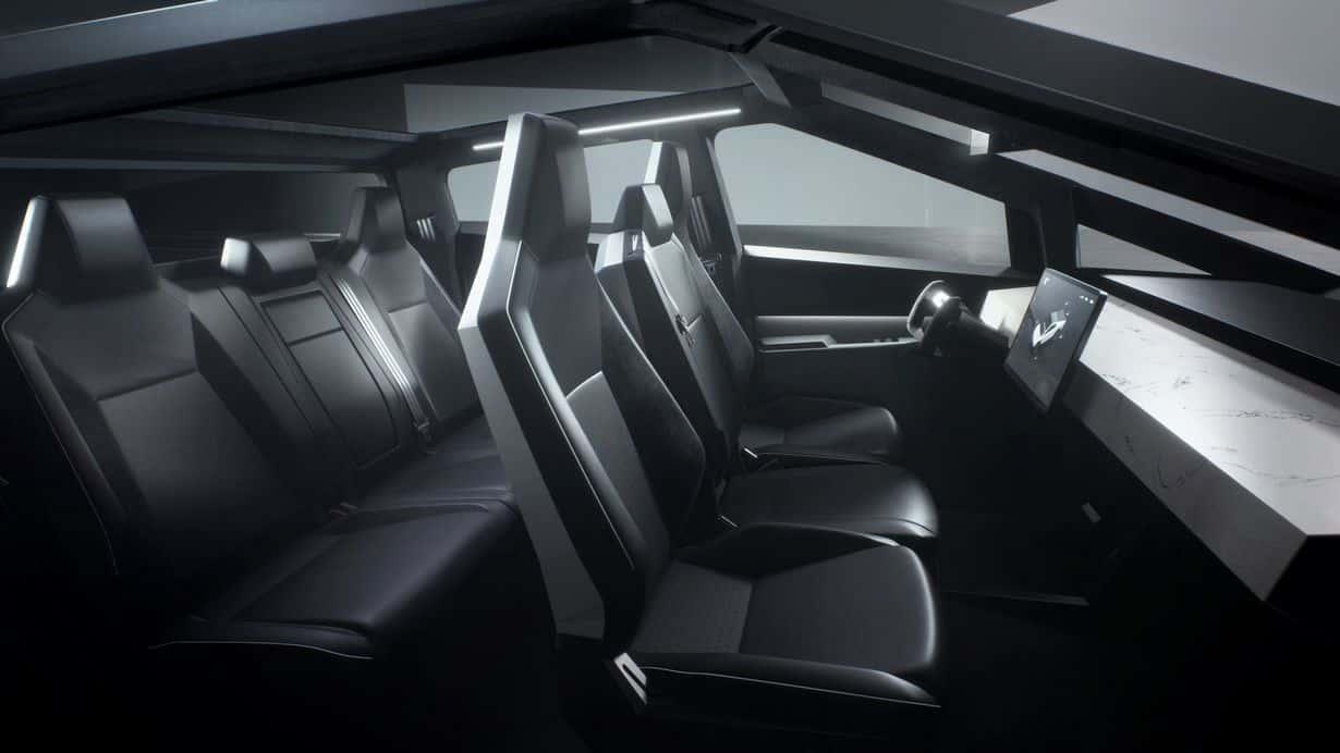 Elektryczny pickup - wnętrze