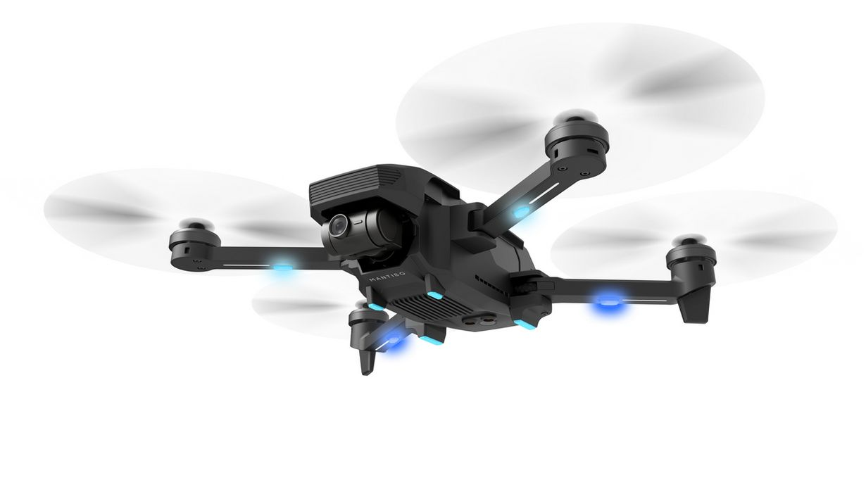Dron Yuneec Mantis G dostępny na polskim rynku