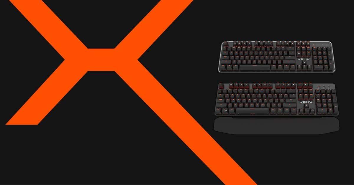 KRUX Comet i Meteor - czyli nowe klawiatury dla graczy!
