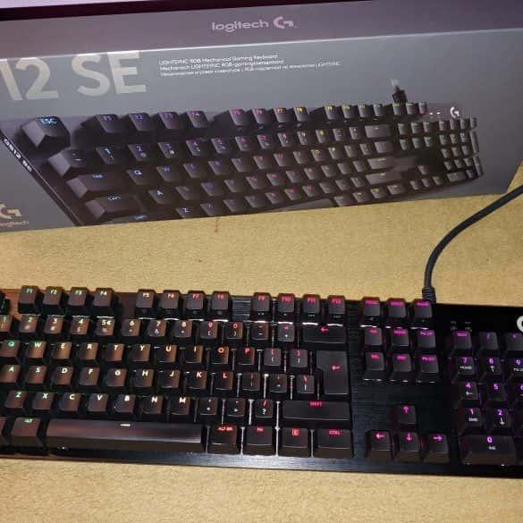 Logitech G512 SE - recenzja klawiatury dla graczy
