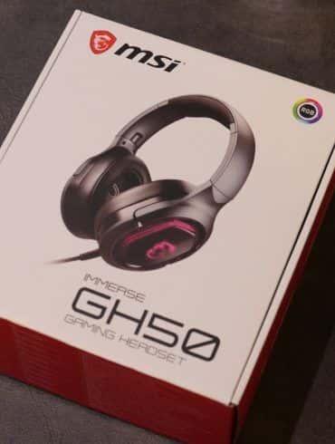 MSI GH50 - test. Ciekawe słuchawki dla graczy