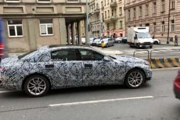 Nowy Mercedes klasy S złapany w kamuflażu!