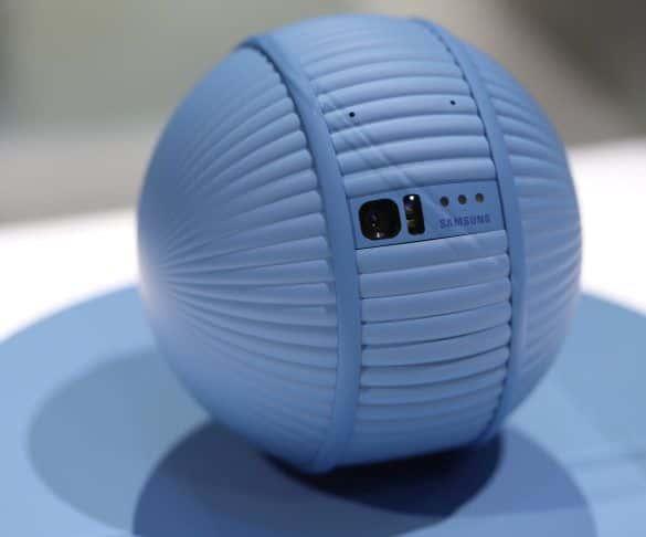 Samsung Ballie, czyli domowy smart przyjaciel