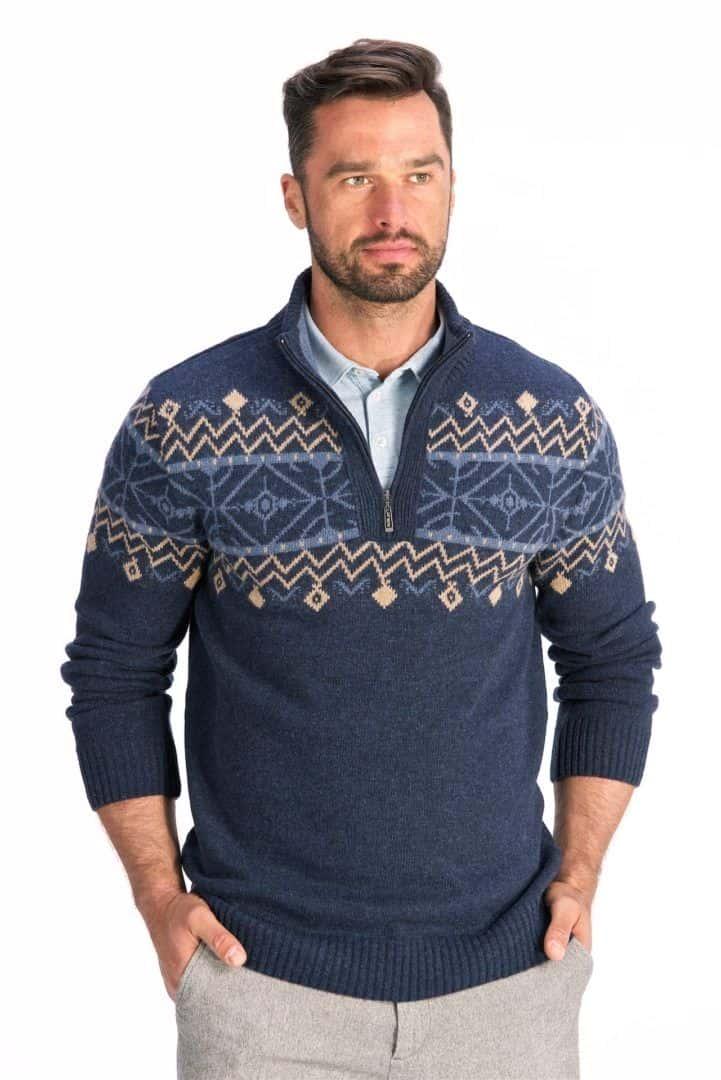 Męskie swetry na zimę - ciekawe propozycje
