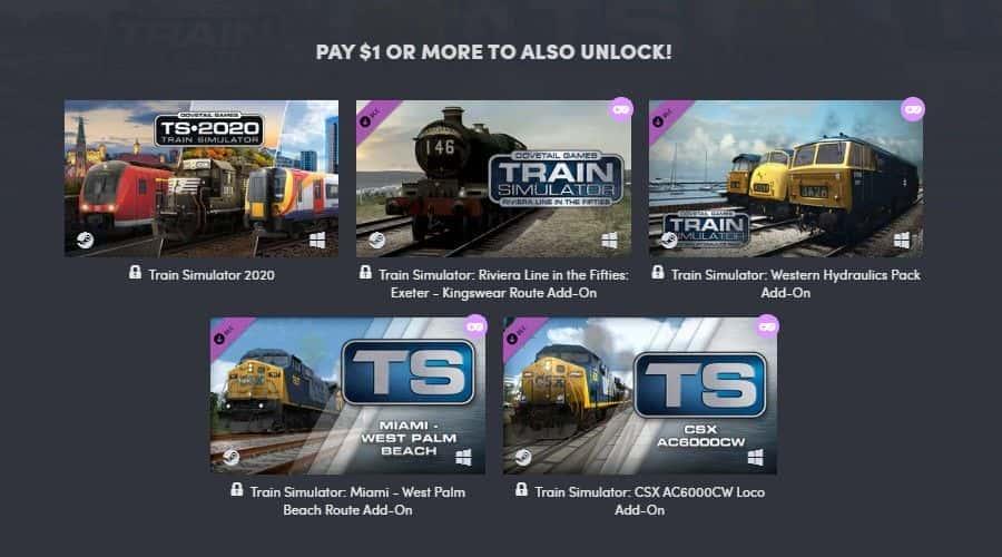 Lubicie pociągi? Na Humble Bundle możecie zgarnąć Train Simulator 2020 z dodatkami już za jednego dolara!