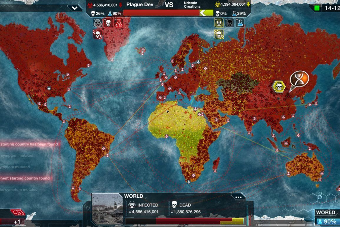 Koronawirus atakuje - rząd Chiński kazał usunąć grę