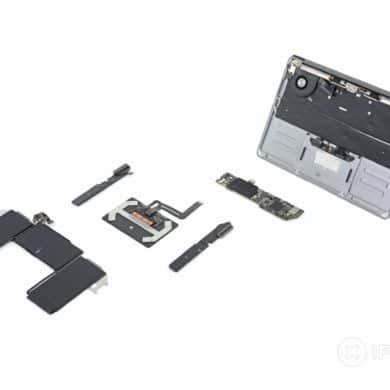 Opinia o MacBook Air 2020 od iFixit - pochwała dla projektantów
