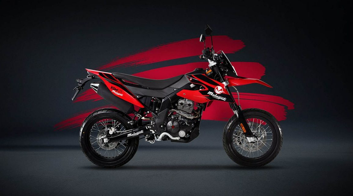 Malaguti XTM 50 i XSM 50 - motocykle enduro dla początkujących