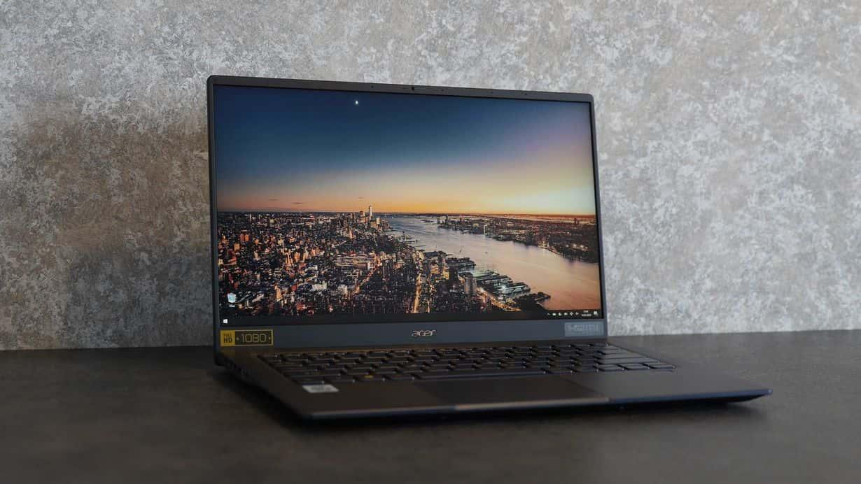 Acer Swift 5 z i5-1035G1 - ultrabook z Core i5 10 generacji