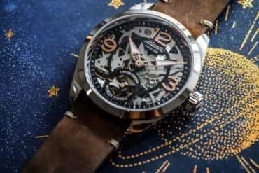 Jak wygląda zegarek skeleton? Poznaj limitowany model Atlantic Seaflight.