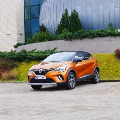 Test Renault Captur 2020 - rysa na szkle