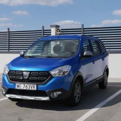 Dacia Lodgy Stepway - tani 7-osobowy van dla rodziny