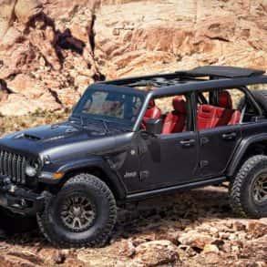 Jeep Wrangler z V8
