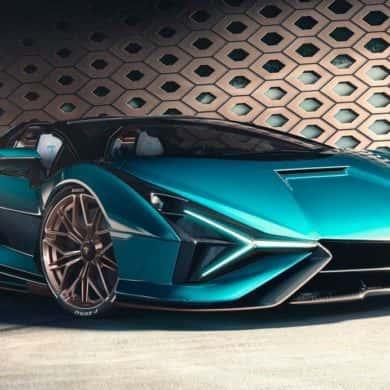 Lamborghini Sian Roadster - pierwsza hybryda i najszybsze Lambo bez dachu w historii
