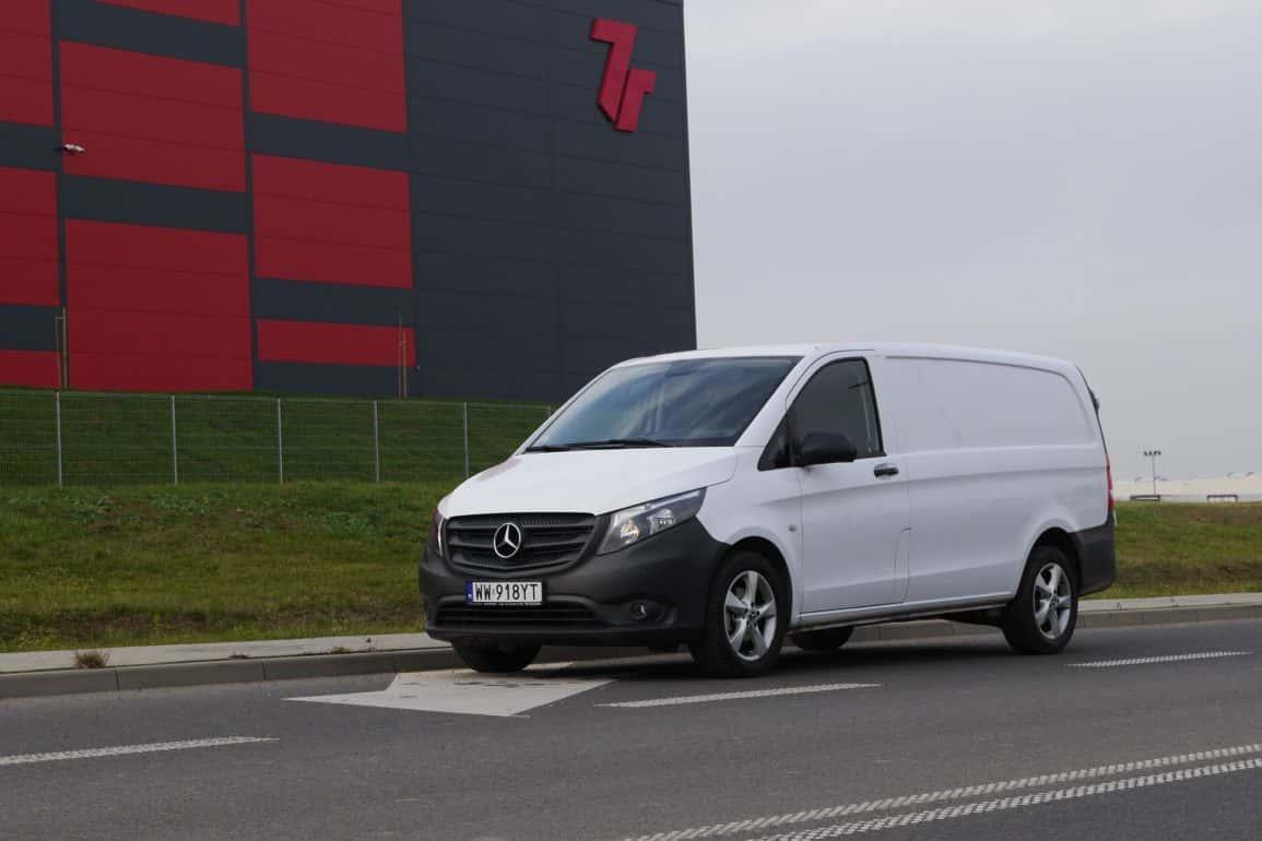 Mercedes Vito Furgon 111 CDI - bus dla kuriera i nie tylko