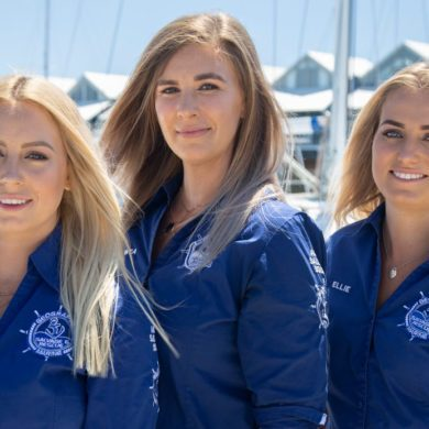 Ratownicy morscy z Australii - wywiad z prowadzącymi