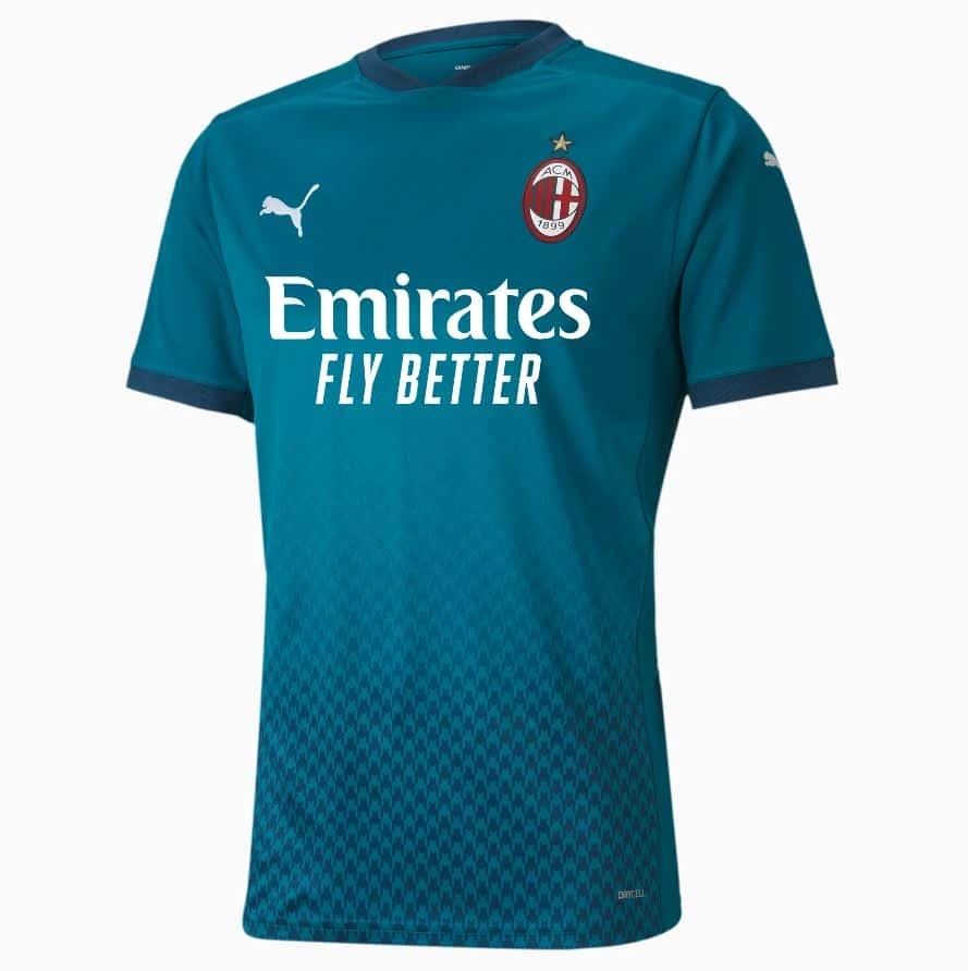 AC Milan zaprezentował trzeci komplet strojów na sezon 2020/21