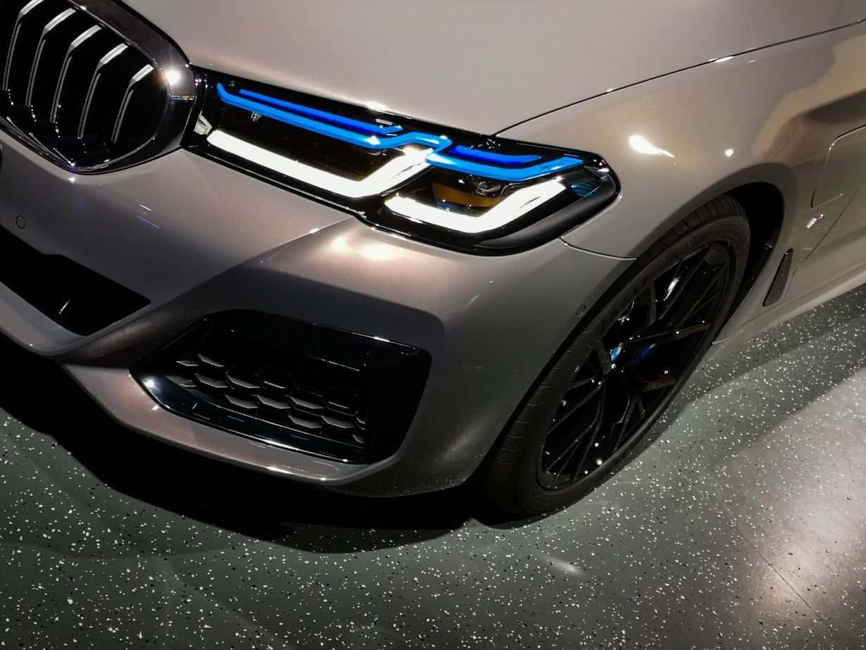 Pierwsza jazda BMW 545e
